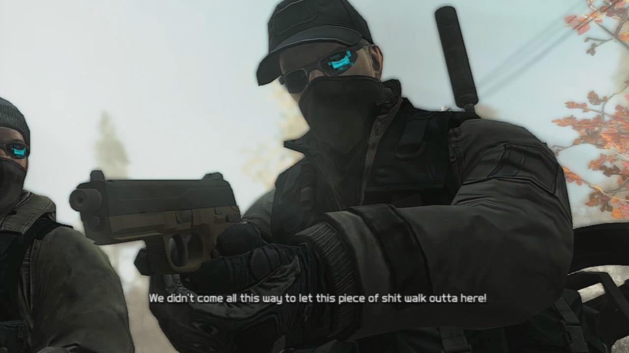 Ghost Recon Future Soldier - Final Scene - Gameplay