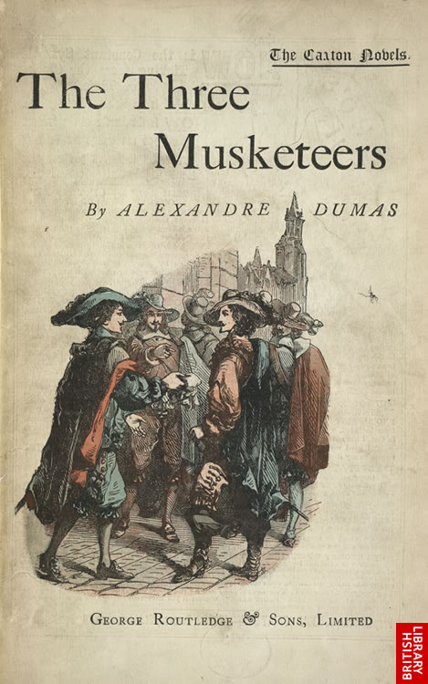 literature t the three musketeers book summary