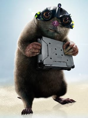 Speckles  G Force Movie Mole