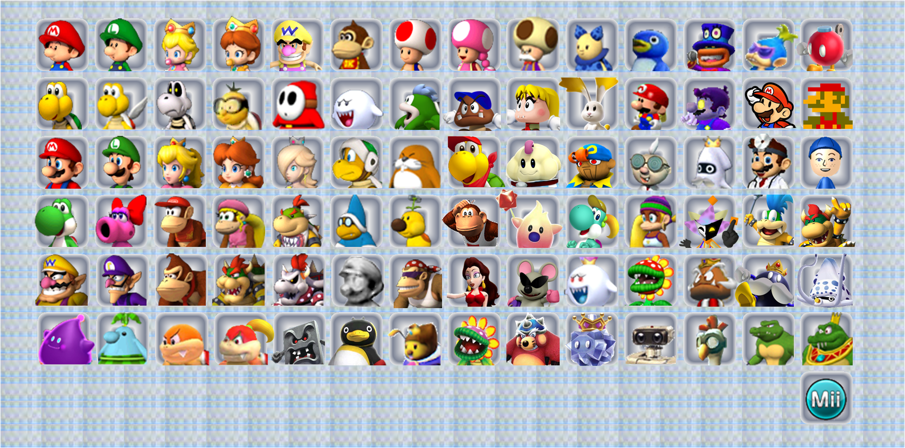 Pics Photos Mario Kart Wii Character Roster Ideas Pictures