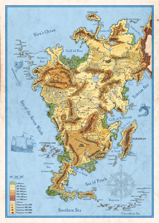 aventurien karte Landkarte Aventurien | Deutschland Karte
