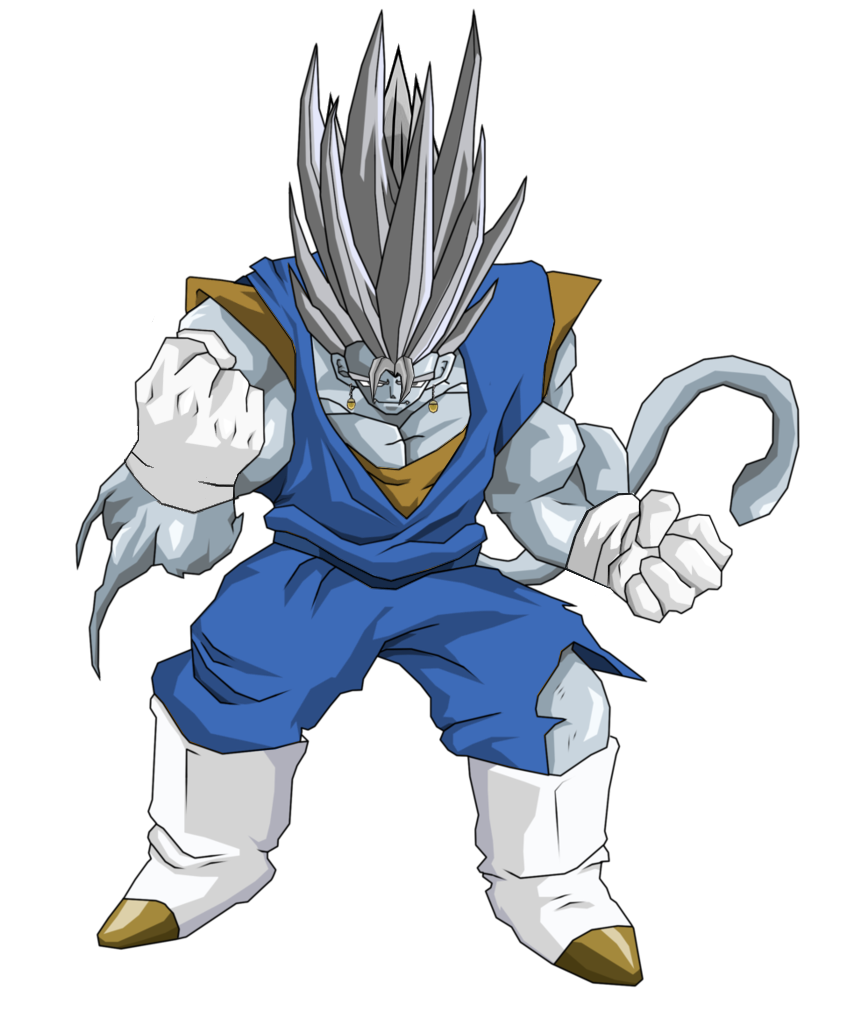Vegito (Kenichi The Mightiest Disciple Version)