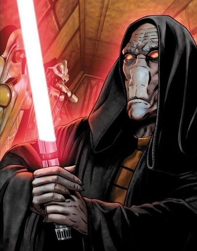 Darth Plagueis's lightsaber - Wookieepedia, the Star Wars Wiki
