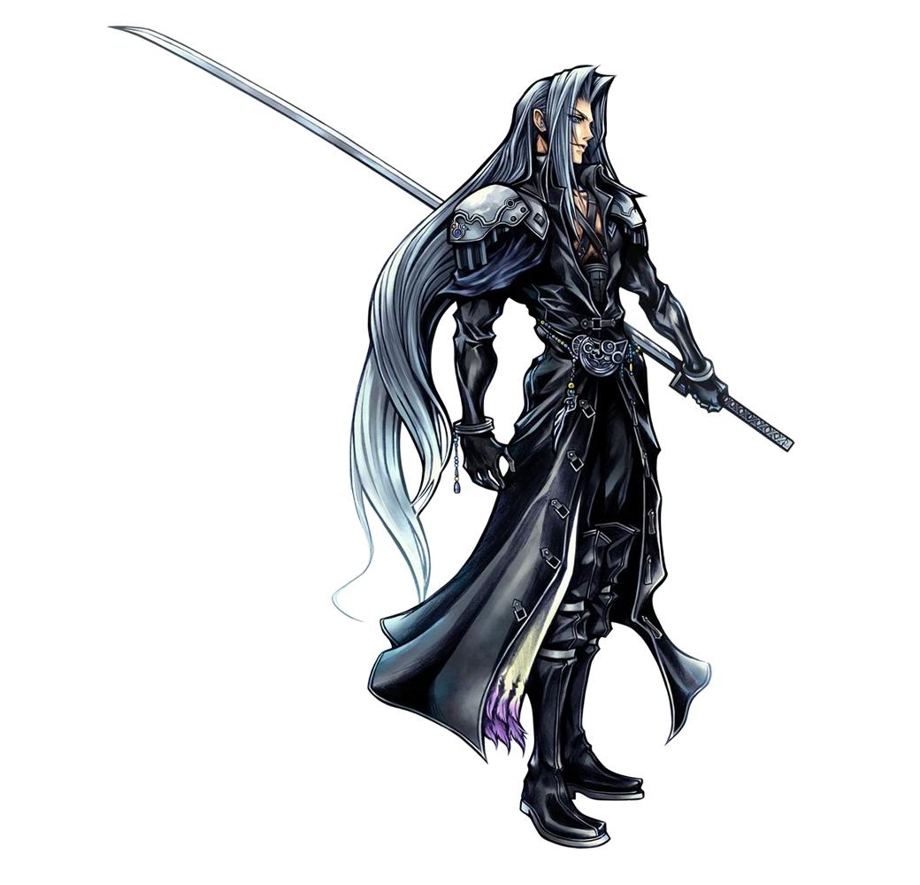 Final Fantasy 7 Anime Characters : Sephiroth villains wiki bad guys comic