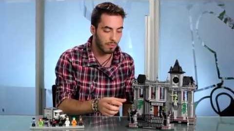 LEGO 10937- Arkham Asylum Breakout Official Video!