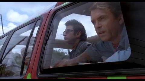 Jurassic Park - Tempting the T-Rex