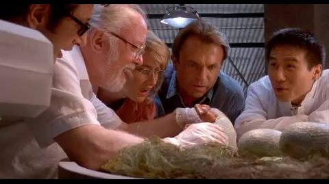 Jurassic Park - Life can't be controlled