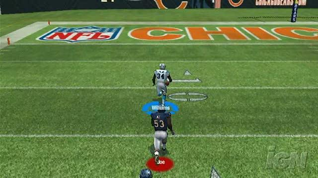 Madden NFL 08 Nintendo Wii Gameplay - Panthers vs. Bears 2 (480p)