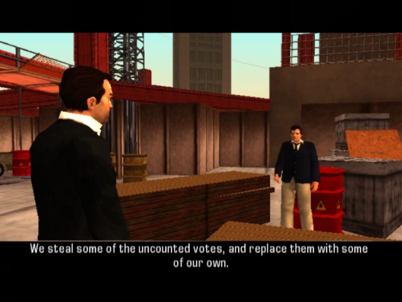 Panel de navegación de Grand Theft Encyclopedia