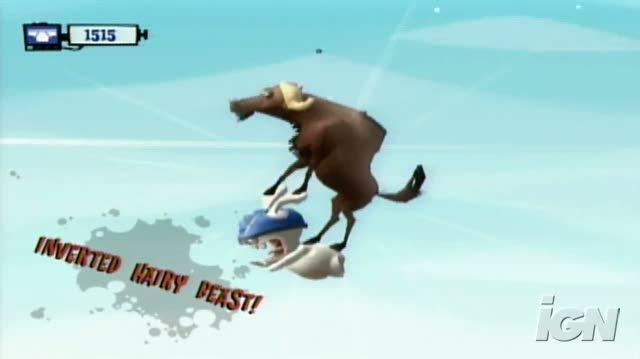 Rayman Raving Rabbids TV Party Nintendo Wii Video - E3 Demo