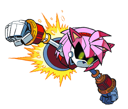 Metal Amy Sonic News Network The Sonic Wiki