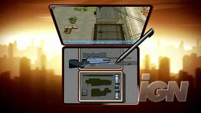 185px grand theft auto chinatown wars nintendo ds trailer   sniper