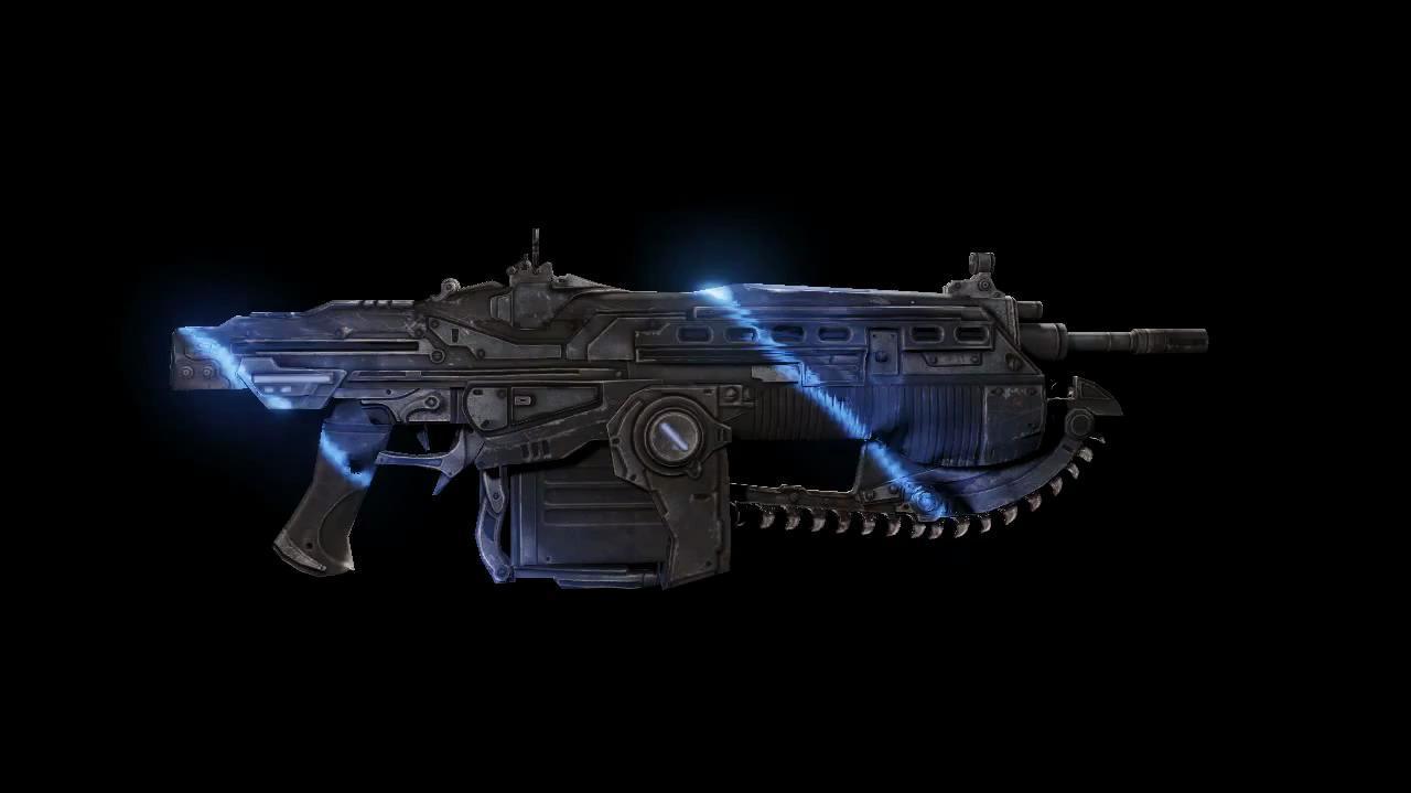 Gears of War 3 Weapon Skins - Pulse