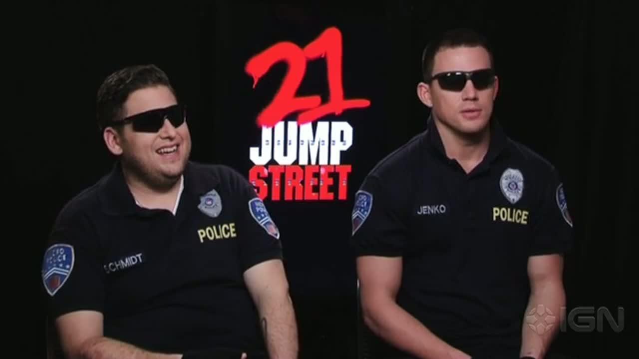 21 Jump Street - Jonah Hill and Channing Tatum Interview