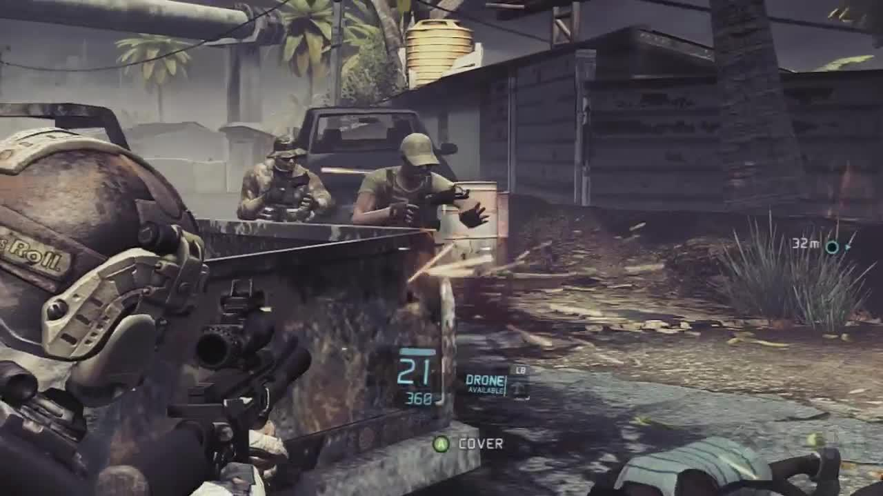 Ghost Recon Future Soldier - Noble Tempest - Gameplay