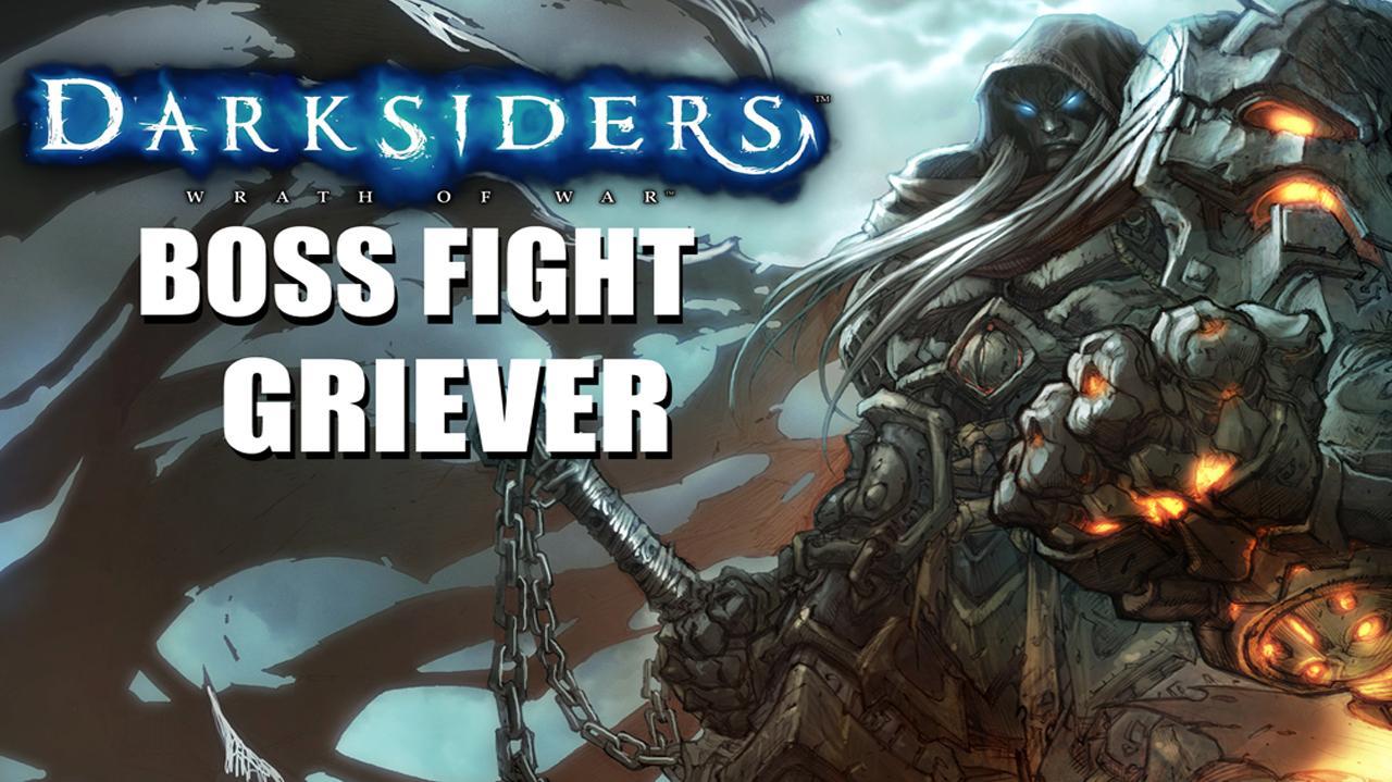 Darksiders Boss Fight - Griever - Gameplay