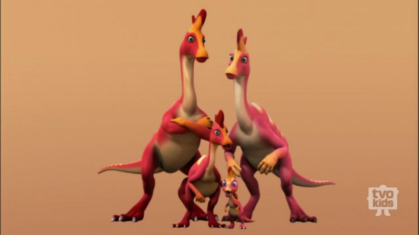 Lambeosaurus Family - Dinosaur Train Wiki