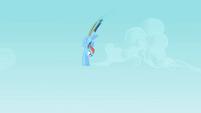 Rainbow Dash flying 2 S2E07