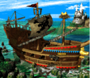 Gangplank Galleon Map (Donkey Kong Country 2).png