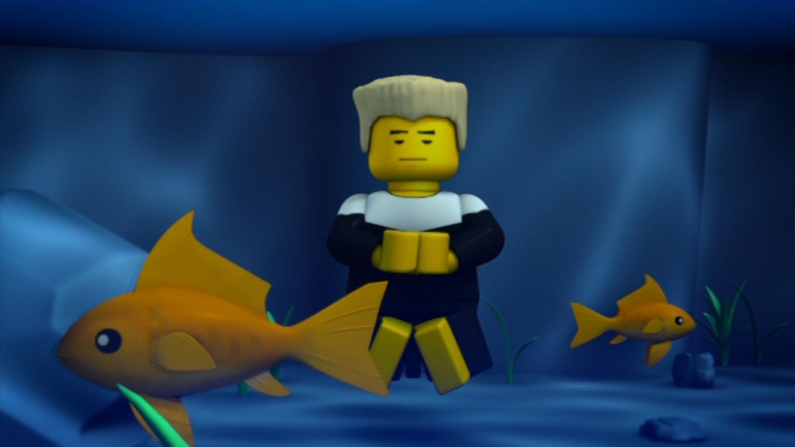 Zane underwater - Ninjago lego zane ...