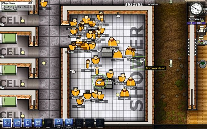 prison architect how to clear morgue