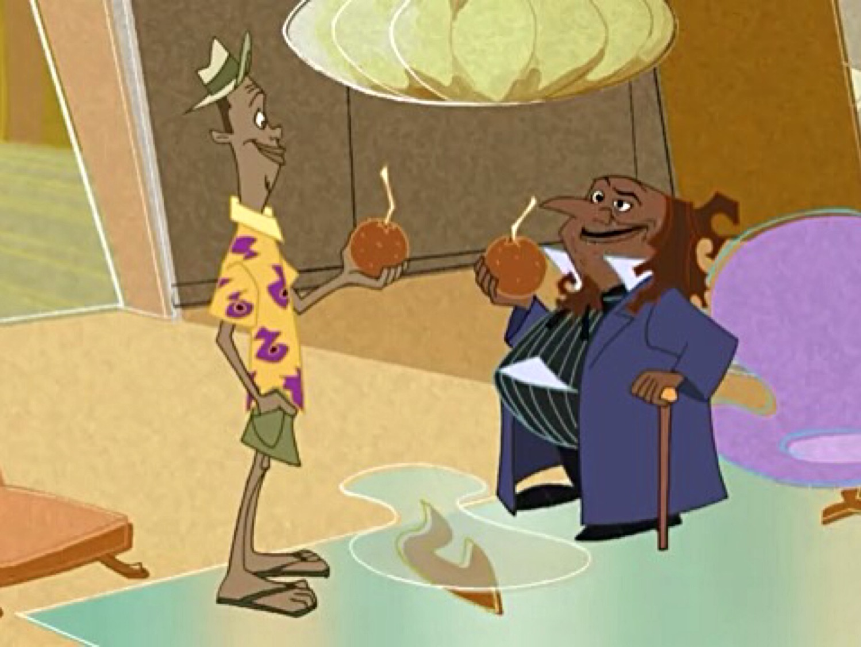 The Proud Family Movie Peanut Man Oscar and dr  carver movieThe Proud Family Movie Peanut