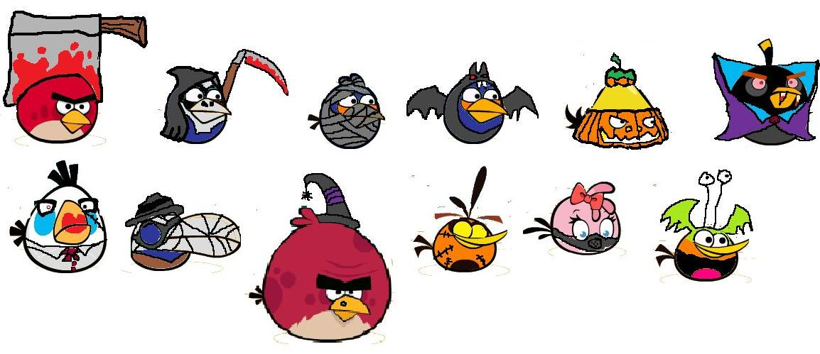Angry Birds All Birds Names Angry Birds fa Pink Bird