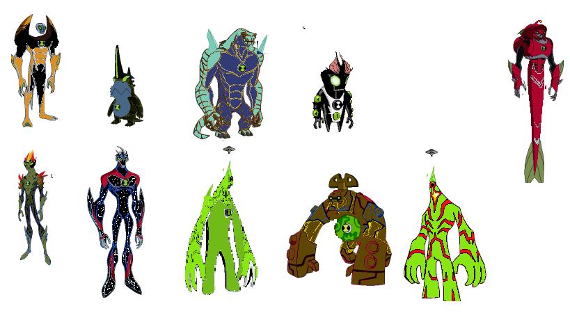 Aliens de ben 10 supremos - Imagui