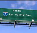 Los Puerta Freeway
