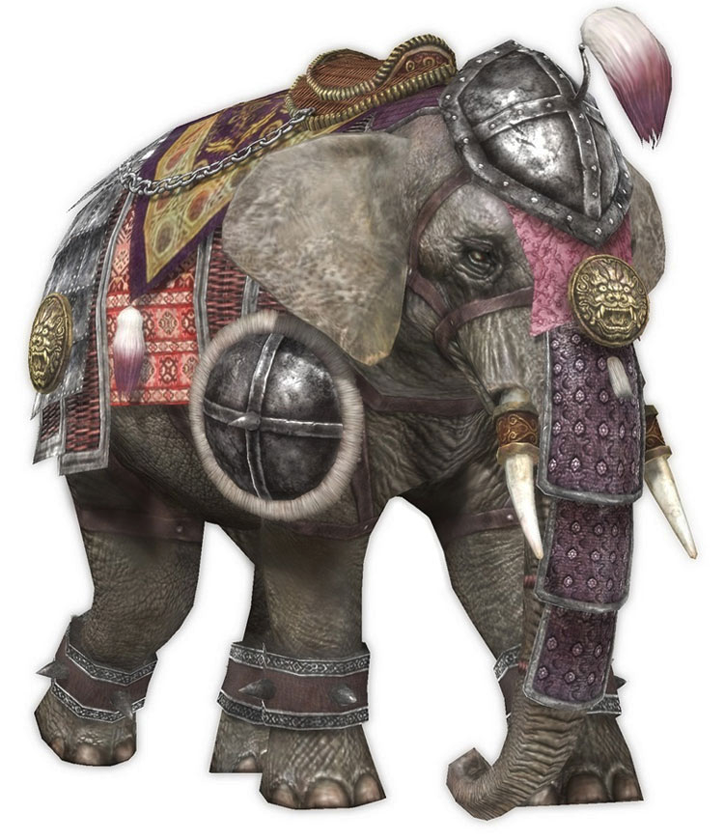 Warriors Orochi 3 Ultimate Mounts: DW7 Elephant.png
