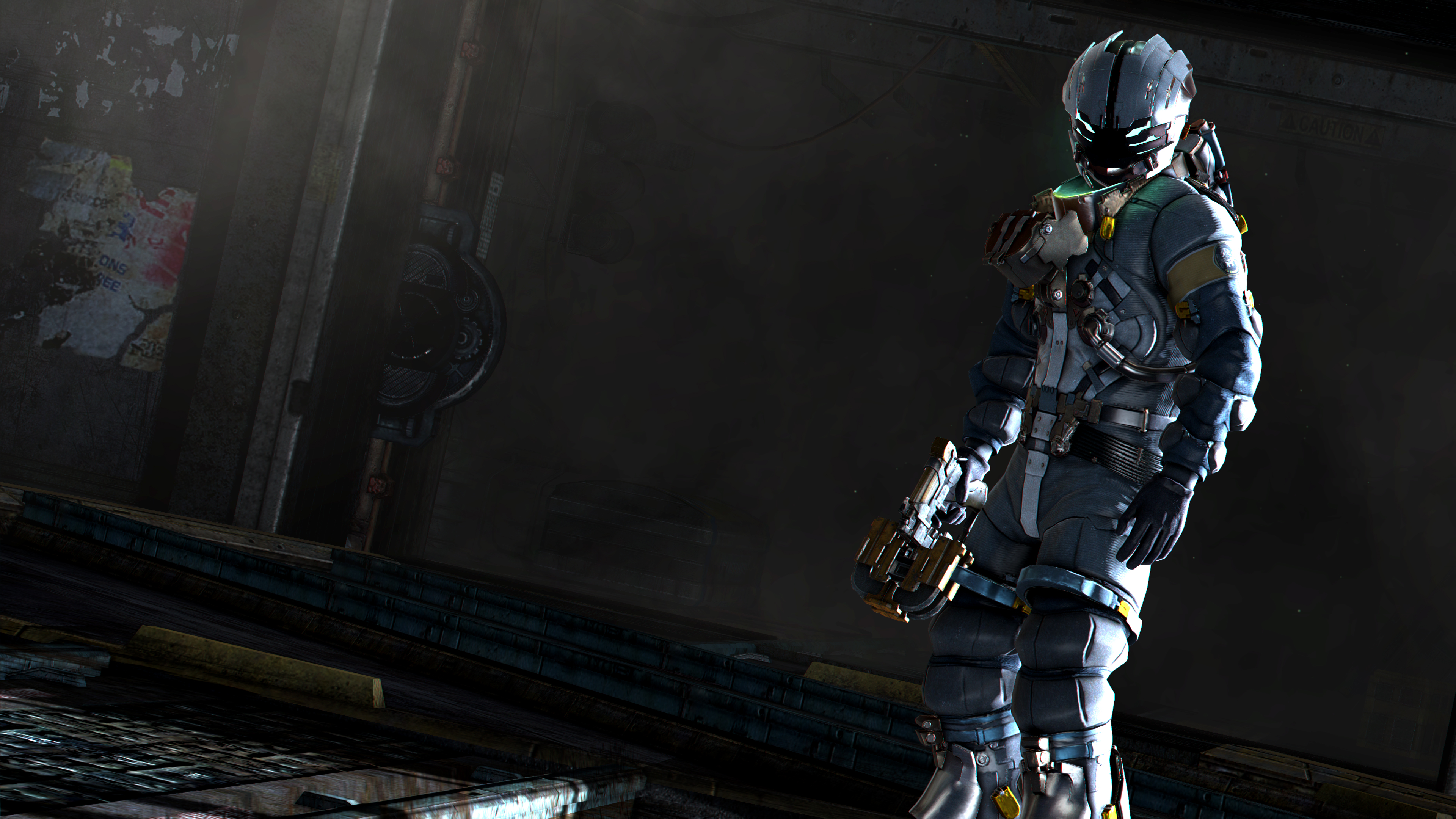 EVA Suit (Dead Space 3) Minecraft Skin