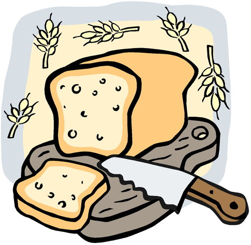 Slice of Bread Clipart Clipart Bread Sliced Jpg