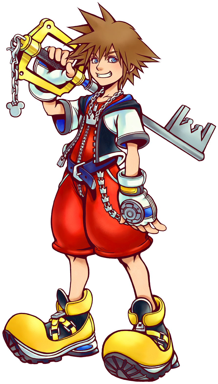 Sora Kingdom Hearts Lineart : Sora art kh