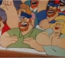 Bluto and Blutessa's relatives