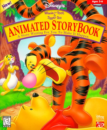 Animated Storybook Winnie The Pooh And Tigger Too