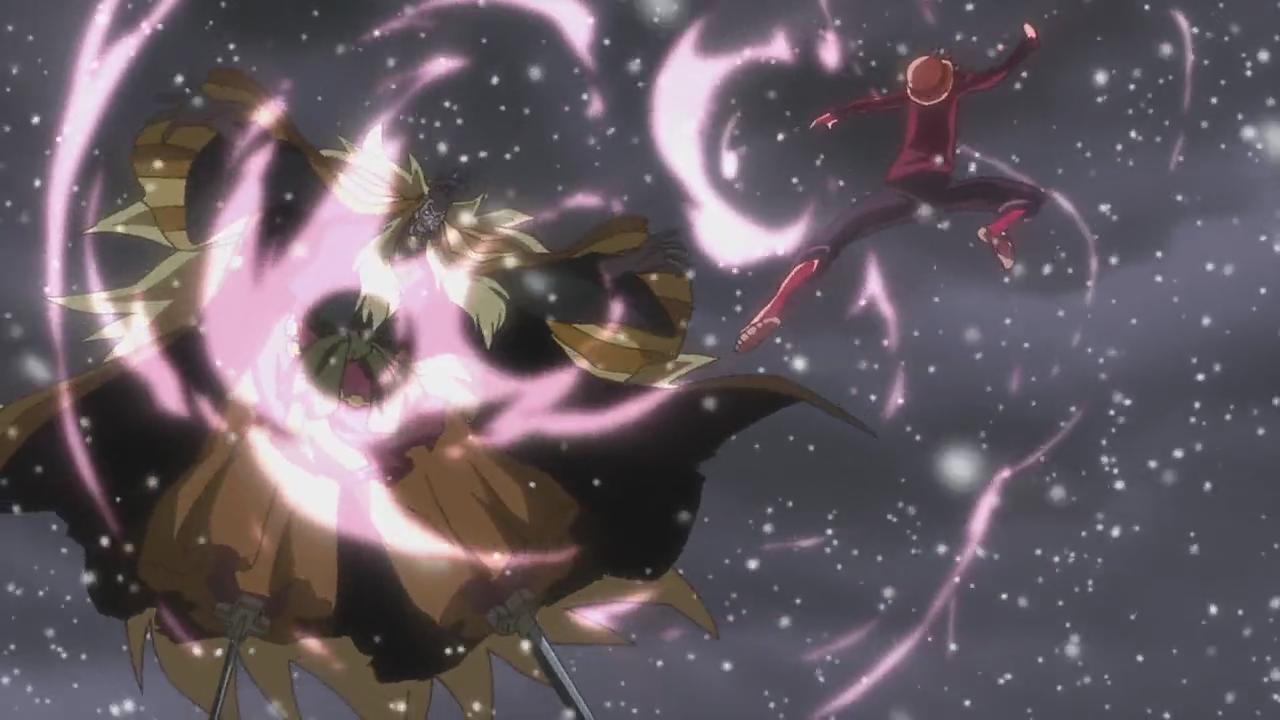 Luffy vs Shiki