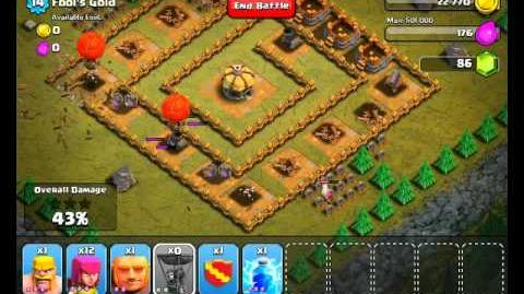 Clash of Clans Level 18 - Fools Gold