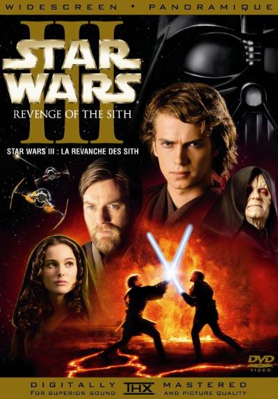 star wars episode iii: revenge of the sith - dvd database