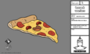 BW103 model pepperoni pizza on table.png