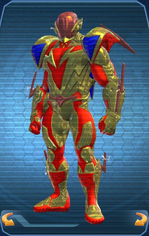 iconic battle suits