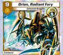 Orion, Radiant Fury