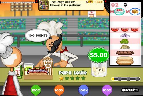 Image papa louie flipline studios wiki - Jeux de cuisine papa louie pancakeria ...