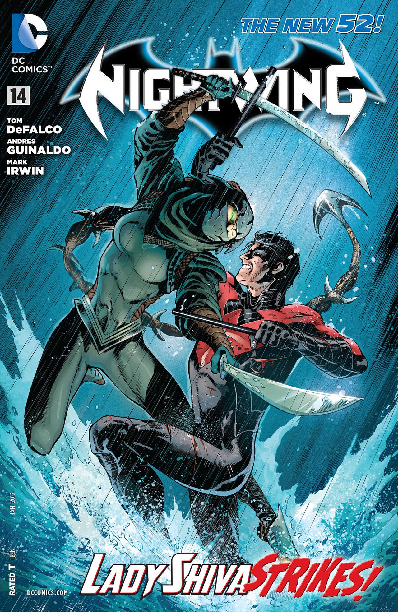 Nightwing Vol 3 14 Dc Comics Database