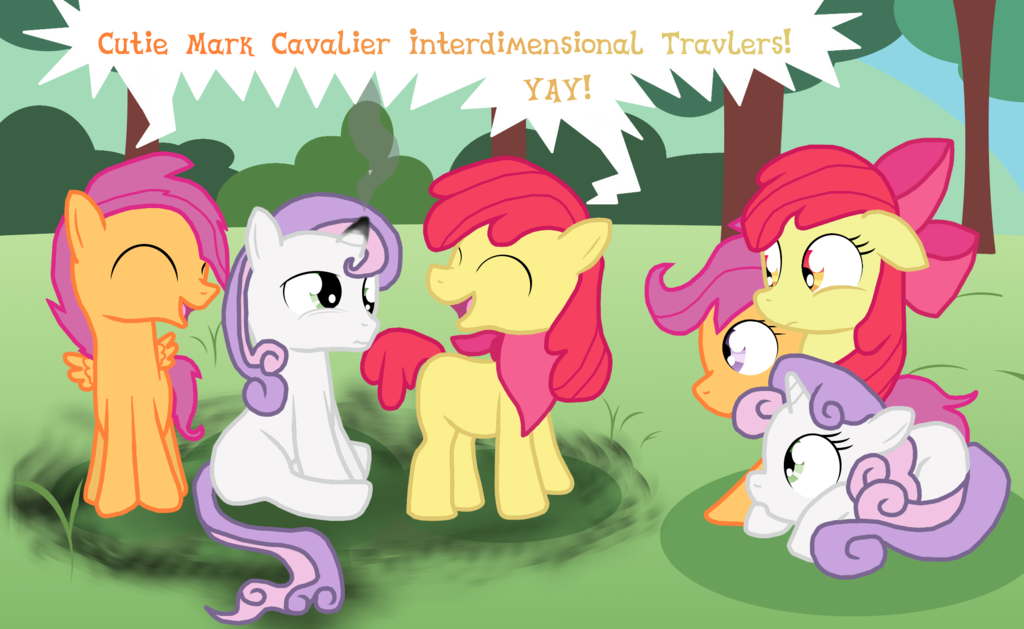 Image The Cutie Mark Cavaliers By Dw1482 Png My Little