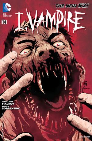 Cover for I, Vampire #14 (2013)
