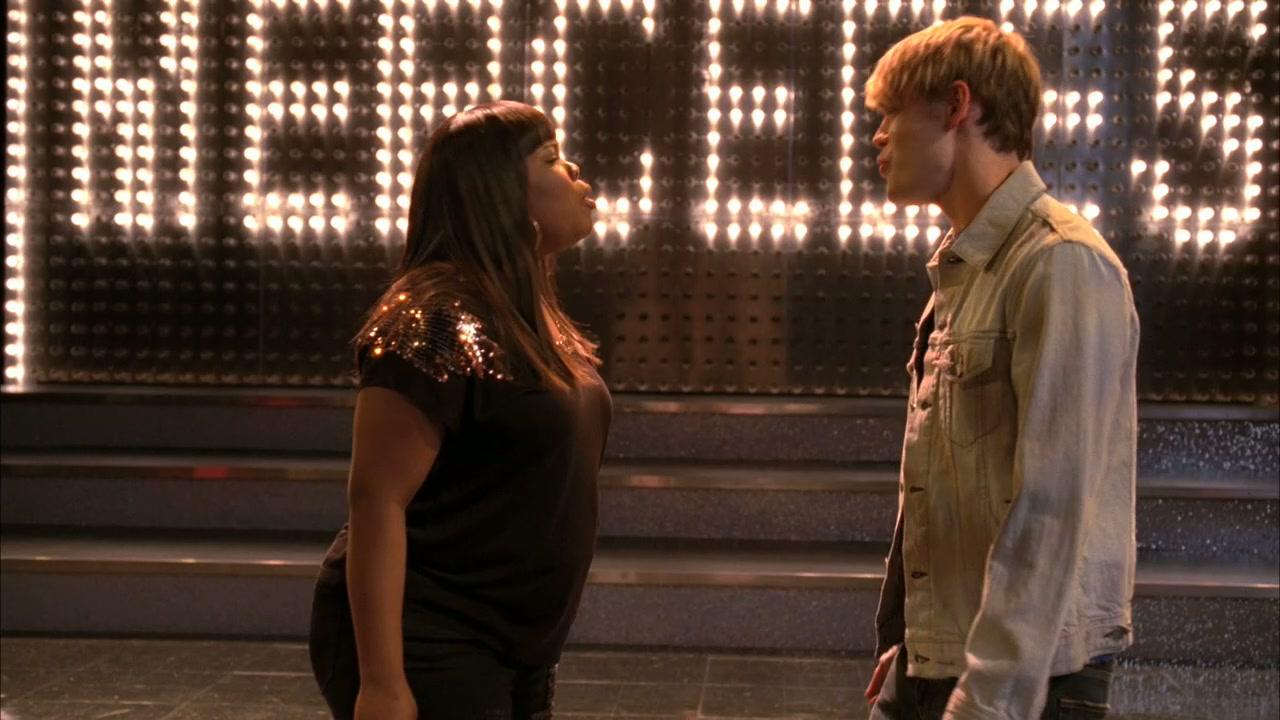 Glee Mercedes And Sam Human Nature