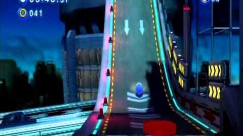 Sonic Generations Classic Sonic In 3D Camera Glitch (Speed Highway Act 1)