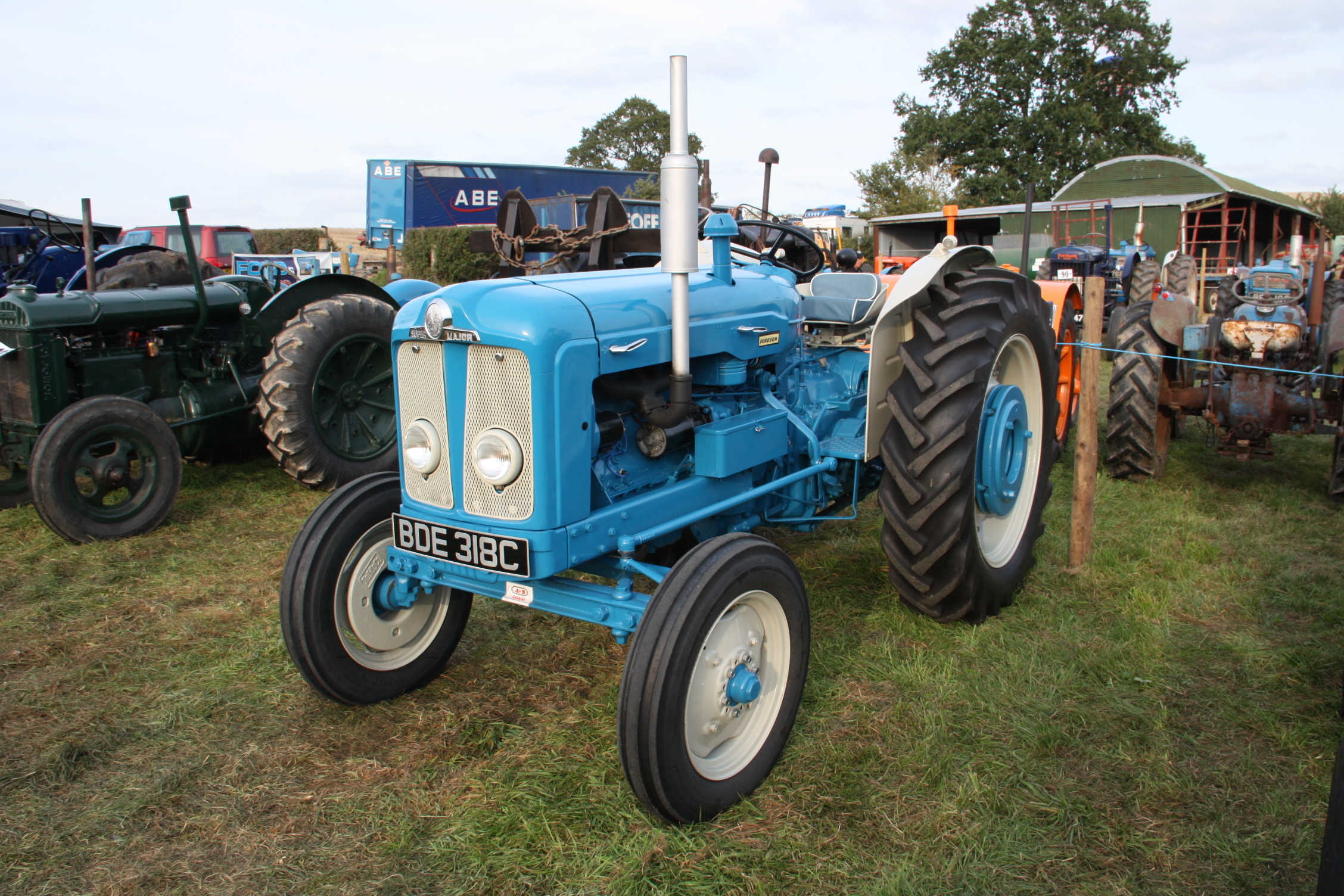 Fordson E1a Major Tractor Amp Construction Plant Wiki