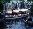 Jungle Cruise River Boats
