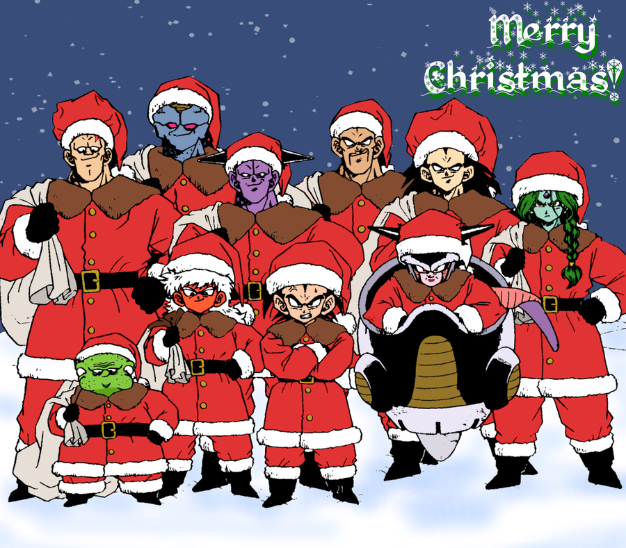 Dragon Ball Super Christmas Wallpaper: A Dragonball NG CHRISTMAS